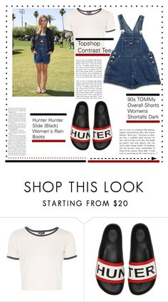"""State Fair #2"" by royal-fashian on Polyvore featuring Topshop and Hunter"