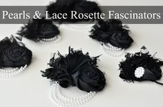 Tutorial – Pearls & Lace Rosette Fascinators | The Mother Huddle