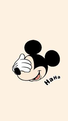 haha....vamos ver filminho? 😁 💏 😘💕 Mickey Mouse Wallpaper Iphone, Cute Disney Wallpaper, Cute Cartoon Wallpapers, Cute Wallpaper Backgrounds, Wallpaper Iphone Cute, Pretty Wallpapers, Mickey Mouse Crafts, Mickey Mouse And Friends, Mickey Minnie Mouse
