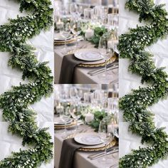 This item is unavailable - Eucalyptus & Boxwood Garland Wedding backdrop Wedding Wedding Table Flowers, Garland Wedding, Wedding Centerpieces, Wedding Decorations, Wedding Backdrops, Wedding Ideas, Wedding Pins, Rustic Wedding, Diy Wedding