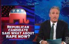 Jon Stewart Tears Into GOP Over Richard Mourdock's Rape Comments (VIDEO)