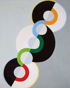 Endless Rythm, 1934 by Robert Delaunay. Tate custom print.
