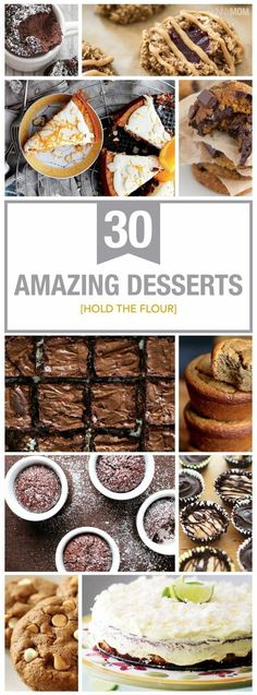 Try one of these skinny flourless desserts!