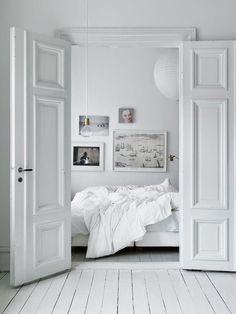 my scandinavian home: Duvet day, the perfect bedroom Scandinavian Interior Design, Scandinavian Home, Home Interior, Interior Ideas, Danish Interior, Pastel Interior, Interior Shop, Interior Sketch, Classic Interior
