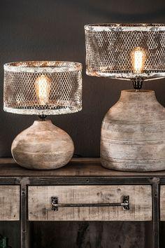 Table lamp Convex I Handmade Home Decor, Diy Home Decor, Diy Luminaire, Lamp Makeover, Lampshades, Shabby Chic Decor, Lighting Design, Furniture Design, House Design