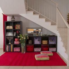 récupérer l'espace sous un escalier