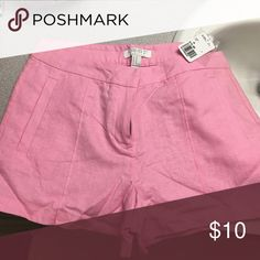 Pink shorts! Pink size M forever 21 shorts. New with tag. These are adorable and you can dress them up or down. forever21 Shorts