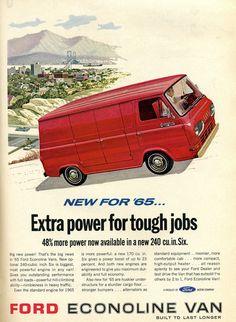 1965 Ford Econoline Van | Flickr - Photo Sharing!