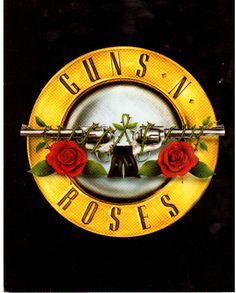 Guns N' Roses Logo Rock Vintage 11X14 Color and 13 similar items