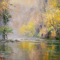 Rex PRESTON - Autumn Trees, Chee Dale