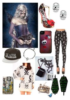 """""""Death"""" by vitoria2012 ❤ liked on Polyvore featuring See You Monday, Iron Fist, Juicy Couture, Mishka, Aurelie Dellasanta, Gag & Lou, women's clothing, women's fashion, women and female"""
