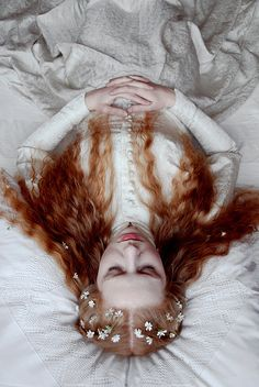 Is this Princess sleeping or dead? oh dear. untitled by marjam diederich on Flickr.