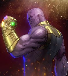 Art by Ruben Orellana Marvel Dc Comics, Marvel Avengers, Heros Comics, Marvel Fan Art, Thanos Marvel, Marvel Villains, Marvel Heroes, Marvel Characters, Hulk Smash