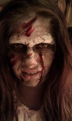 The Exorcist makeup by BreBeauty Makeup Artistry