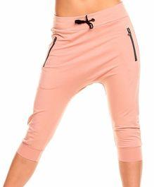 Damen  Capri Hose Shorts Jogginghose  Pumphose Vintage Rosa- Schwarz Neu Gr.XL in Kleidung & Accessoires, Damenmode, Hosen | eBay!