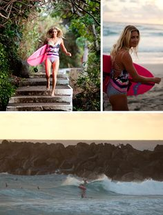 Steph Gilmore // Roxy Pop Surf #popsurf