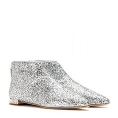 Miu Miu - Glitter ankle boots #shoes #miumiu #women #designer #covetme