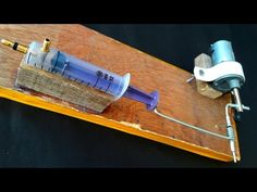How to make 3V solinoid engine using syringes , cool video - YouTube