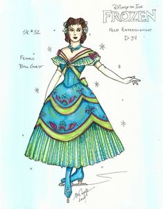 Disney On Ice Frozen, Frozen On Broadway, Frozen Musical, Elsa Olaf, Frozen Costume, Princess Aesthetic, Mountain Man, Costume Design, Princess Zelda
