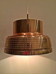 Carl Thore midcentury brass lamp  by Deerstedt on Etsy