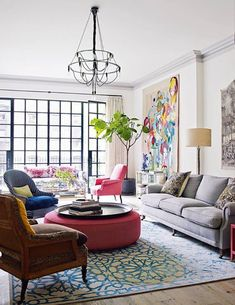 973be4c888b3 50 Favorites for Friday  Beautifully Colorful Rooms Living Room Zones