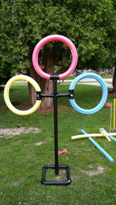 Outdoor Games For Kids Party Children Pool Noodles Ideas For 2019 Summer Games, Summer Activities, Summer Fun, Indoor Activities, Family Activities, Summer Crafts, Kid Crafts, Family Games, Lawn Games