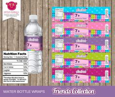 Welcome to Artful Monkeys!  Thank you for your interest in purchasing these personalised water bottle labels. This listing is for a printable PDF file for the Lego Friends themed water bottle labels. ~°~ How To Order ~°~  Step 1 - Select 1 for the quantity required and then add to cart.  Step 2 - Checkout with your items and include the required information to personalise your labels in the 'Note to Seller' section at the checkout. Please be sure to enter your details EXACTLY as you would…
