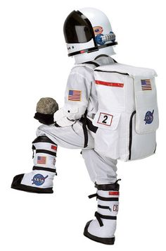 space suit rear - photo #27