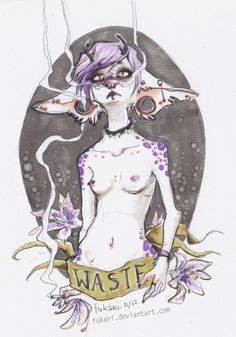 waste by Fukari.deviantart.com on @deviantART