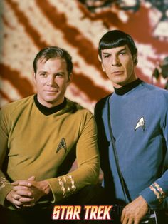 Star Trek: The Original Series, Captain Kirk and Spock. Premium Poster from AllPosters.com, $24.99