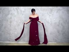 Twenty3 Tutorial | 10 Ways To Wear The Convertible Dress - YouTube