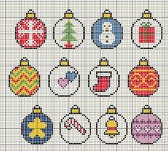 Christmas Bauble themed motif cross stitch designs Christmas Bauble themed motif cross stitch designs,Sticken Christmas Bauble themed motif cross stitch designs Related posts:Etsy Shop-Funktion auf So Super Awesome . Cross Stitch Christmas Ornaments, Xmas Cross Stitch, Simple Cross Stitch, Cross Stitch Borders, Cross Stitch Kits, Cross Stitch Designs, Cross Stitching, Cross Stitch Embroidery, Christmas Baubles