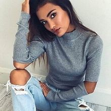 turtleneck off shoulder knitted sweater women autumn Fashion tricot pullover jumpers Pull femme oversized capes(China (Mainland))
