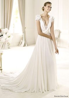 4f2306f9b61 Elie by Elie Saab Bridal 2014 Collection for Pronovias. Dress  WeddingWedding Dresses ...