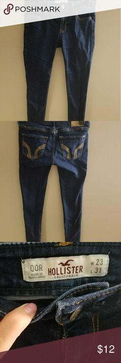 Hollister skinny jeans Basically brand new, I outgrew them fast. Jeans Skinny