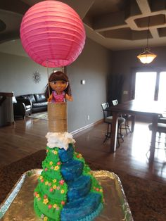 Dora the Explorer cake for CHS