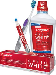 Kathryn gives us a way to get perfectly white teeth at a fraction of the cost. COLGATE OPTIC WHITE is a new health.review.