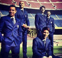 La Masia Graduates-Barca Boys Xavi Hernandez, Victor Valdes, Lionel Messi, Cesc…