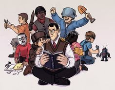 Kids Fortress 2 by Kethavel on DeviantArt