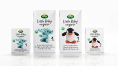 ARLA little baby organic #carton #packaging