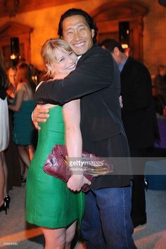 Emilie de Ravin and <a gi-track='captionPersonalityLinkClicked' href='/galleries/personality/581168' ng-click='$event.stopPropagation()'>Daniel Dae Kim</a> attends Entertainment Weekly's 6th annual pre-Emmy celebration presented by Revlon at the Historic Beverly Hills Post Office on September 20, 2008 in Beverly Hills, California.