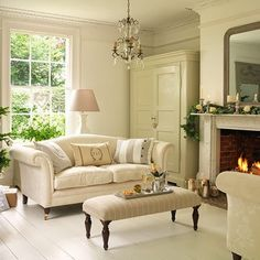 Pictures Of Country Living Rooms Simple Ceiling Design For Room 2016 285 Best Modern Images Chairs Dining Georgian Farmhouse In Essex Via Cosy Home Area Cream And White