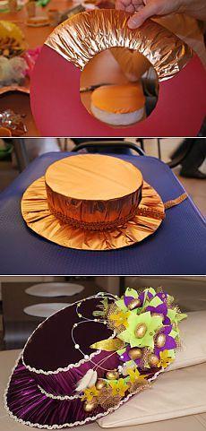 Как мы делали конфетную шляпку