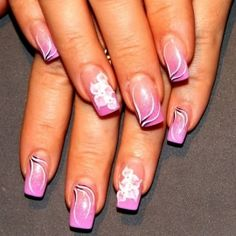 Hand Painted Nail Designs | ... nail designs and draw them embracing the latest nail color trends for