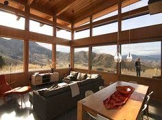 Nahahum Canyon cabin by Balance Associates, Architects, http://www.balanceassociates.com/