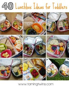 40 Toddler Lunchbox Ideas (and Stuck on You Giveaway to win one of these fabulous personalised lunch kits)