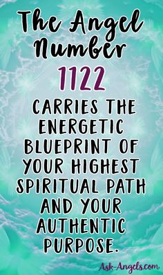 The Angel Number 1122... Read more about what it means here >>
