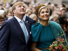 Oct 27, 2016, King Willem-Alexander and Queen Maxima visit Almelo and Northeast Twente Oud Ootmarsun
