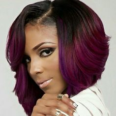 Love the cut and color..