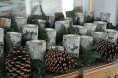 birch log candle holder for fireplace - All You Need To Know About ...